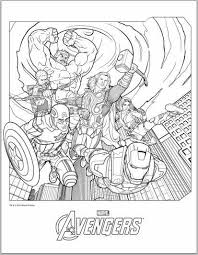color avengers 2012 coloring pages jimmer