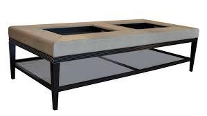 lacquer creative design oversized ottoman coffee table