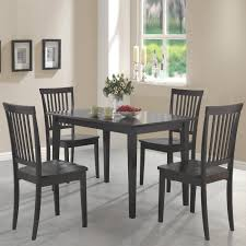coaster furniture 150152 oakdale 5 pieces dining set in cappuccino