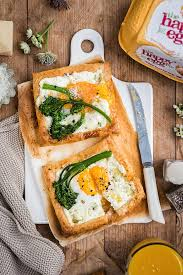 egg and goat u0027s cheese puff pastry galettes supergolden bakes