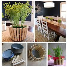 Easy Crafts To Decorate Your Home 15 Easy To Do Recycle Diys 2 Peg Pot Diy Crafts Ideas Magazine