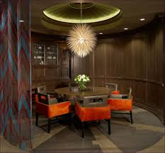 dining room pendant lights above dining table contemporary