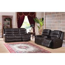 Recliner Sofas And Loveseats by Sofa Cool Leather Reclining Sofa And Loveseat Set Sofa And