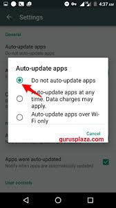 android disable auto update how to disable playstore auto apps update on android