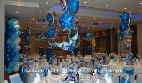 blue and silver decorations archives ballooninspirations