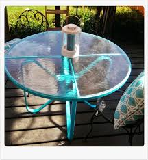 Glass Top Patio Tables Can You Paint A Glass Top Patio Table Table Designs