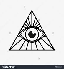 27 triangle eye tattoo designs