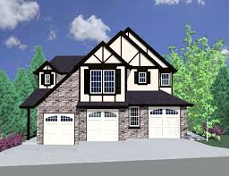 plan 85056ms tudor triplex house plan bonus rooms tudor and