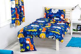 Junior Cot Bed Duvet Set Childrens Bedding Double Size Duvet Qulit Covers U0026 2 Pillowcases