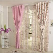 Grommet Top Blackout Curtains Blackout Curtains Drops Door Grommet Top Rod Pocket Pink Rabbit