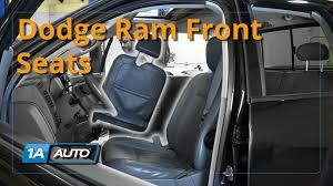 1996 Dodge Ram 1500 Interior Parts How To Remove Reinstall Front Seats 2003 08 Dodge Ram Buy Quality