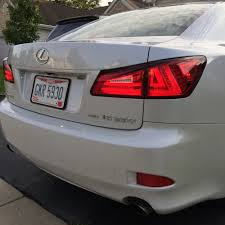 isf lexus jdm 3is style tail lights page 6 clublexus lexus forum discussion