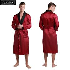 robe de chambre de luxe robe de chambre luxe homme satin pourpre lepeignoirfr charmant