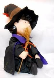 gemmy peanuts gang lucy halloween plush toys witch musical buy