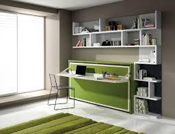 meuble bureau fermé lit escamotable avec bureau