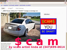 nissan altima 2005 for sale by owner vehicle shipping scam ads on craigslist update 02 23 14
