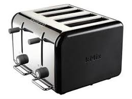 Kenwood Sandwich Toaster Buy Kenwood Kmix Peppercorn 4 Slice Toaster Peppercorn Black