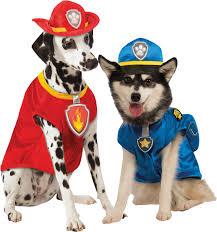 paw patrol dogs fancy dress tv cartoon charcater animal puppy pet