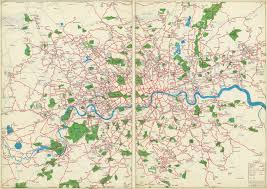 Transport Map Check Out These Amazing Hand Drawn London Transport Maps