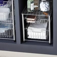 cabinet pull out shelves kitchen pantry storage wire pull out cabinet organizers