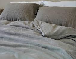 dark linen duvet cover natural linen in dark shade handcrafted