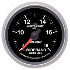 wide band 2 1 16 wideband air fuel ratio analog 8 1 18 1 afr sport comp ii