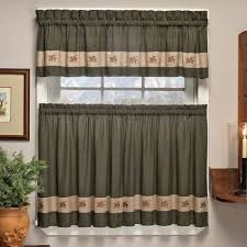 kitchen curtains 36 length amazon com