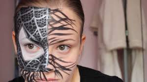 symbiote black spiderman halloween tutorial