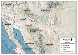 Mexicali Mexico Map by Mexico Program Wildlands Network