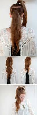 Schnelle Frisuren Lange Lockige Haare by 40 Schicke Vorschläge Für Schnelle Und Einfache Frisuren