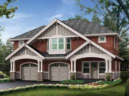 Craftsman House Designs Craftsman House Plans With Detached Garage 4953