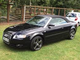 audi convertible 2008 audi a4 tdi convertible 2008 rs6 alloys full service history 60