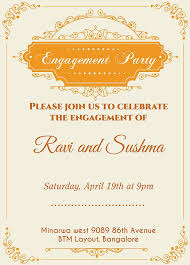 hindu engagement invitations indian engagment betrothal ceremony invitation wordings