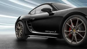 cayman porsche black 2018 porsche 718 cayman black color 4k hd wallpaper latest cars