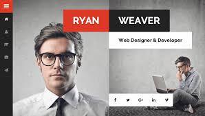 Wordpress Resume Themes Divergent Personal Vcard Resume Wordpress Theme By Egemenerd