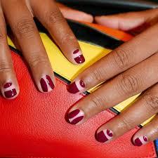 figuras geometricas uñas tendencia en manicura figuras geométricas en las uñas musa