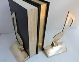 Bookshelf Book Holder Brass Book Holder Etsy