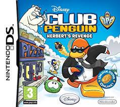 club penguin gift card club penguin herbert s nintendo ds co uk pc
