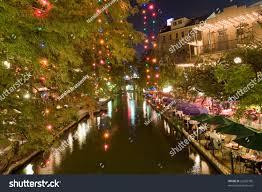 restaurants on san antonio riverwalk stock photo 22605790