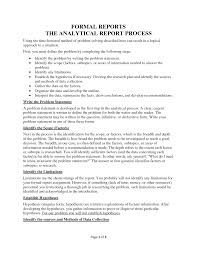 defect report template doc analytical report template masir analytical report template best photos of formal report sample writing analytical example