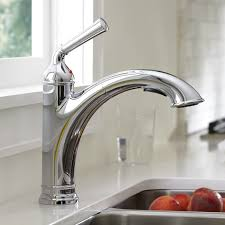 portsmouth 1 handle pull out kitchen faucet american standard