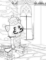 nutcracker coloring pages printable beautiful 6103