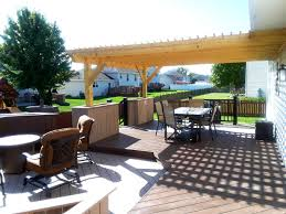 Deck And Patio Combination Pictures by Archadeck Outdoor Living
