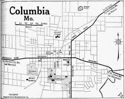 columbia missouri map city of columbia missouri map free printable maps