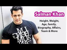 salman khan biography in hindi language salman khan height weight age family biography affairs more