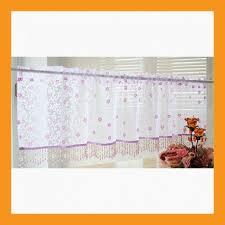 Hallway Door Curtains Sheer Valance Curtain W Decoration For Window