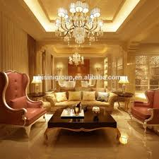royal golden and white classic french style living room whole set