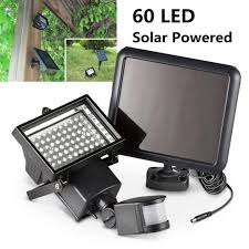 solar powered sensor security light 60 smd led solar powered motion sensor security light flood light