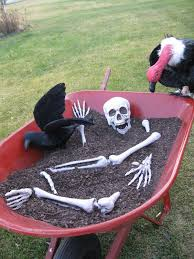 Outside Halloween Decorations 28 Scary Outdoor Halloween Décor Ideas Shelterness