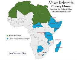 map with names of countries in africa country names in indigenous languages geocurrents